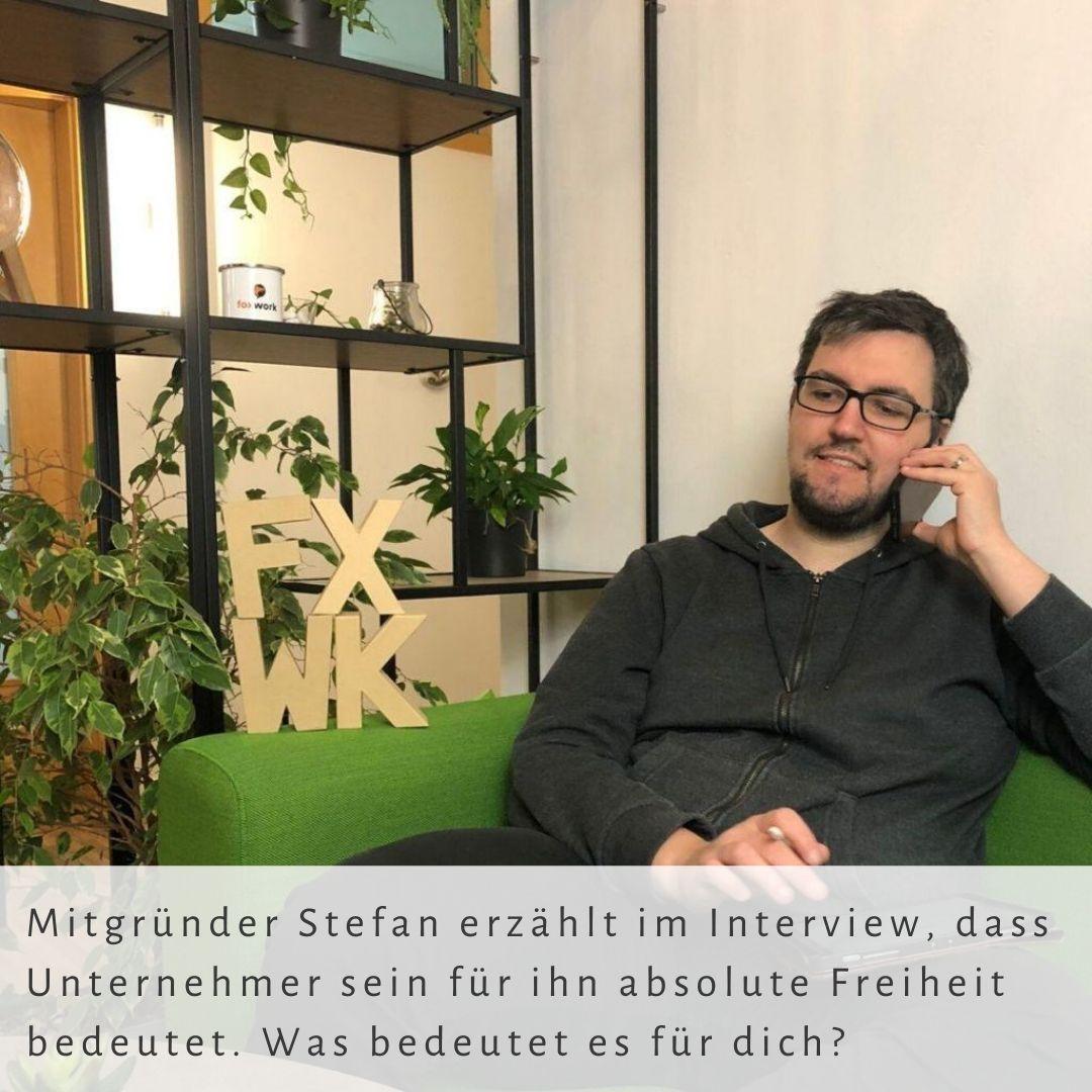 Co-Founder Stefan